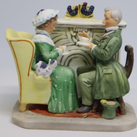 Other - Norman Rockwell Vintage Times Figurine by Gorham